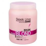Stapiz Sleek Line Blush Blond Haarmaske für rosa Farbtöne 1000 ml für Frauen