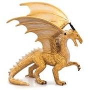 Figurina Dragon Auriu Mojo