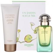 Hermès Un Jardin Sur Le Nil подаръчен комплект VIII. тоалетна вода 50 ml + мляко за тяло 75 ml