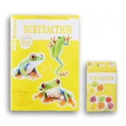 Subtraction Discovery Workbook with Reward Stickers and Flash Card Bundle - 1st Grade