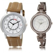 The Shopoholic White Silver Combo Fashionable Fancy Collection White And Silver Dial Analog Watch For Boys And Girls Men Watches