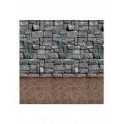 Vegaoo Muurdecoratie steen One Size