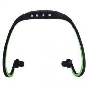 SH-W3 Life Waterproof Sweatproof Stereo Wireless Sports Earbud Earphone In-ear Headphone Headset with Micro SD / TF Card