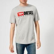 Diesel Men's Just Division T-Shirt - Grey - XXL - Grey