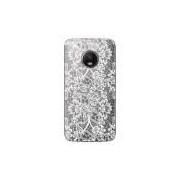 Capa Transparente Exclusiva Para Motorola Moto G5 Plus Renda Branca - Tp283