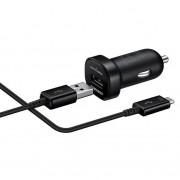 Зарядно за кола Samsung Fast Car Charger (2A) с USB-C кабел (EP-LN930C) (черно)