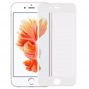 Película Protectora de Vidro Temperado Rurihai 4D Full Size para iPhone 6/6S - Branco