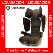 Concord Transformer T Walnut Brown silla auto G 2 3