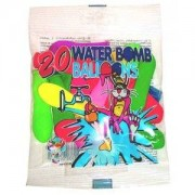 Vattenballonger med pump - 45-pack