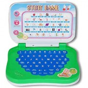 Study Game Mini Laptop With Alphabet And Numbers Sound Toy For Kidz