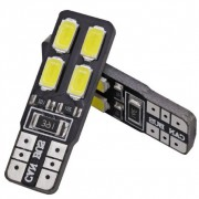 Ampoule T10 LED Twin4 - Anti Erreur OBD - Culot W5W - Blanc Pur