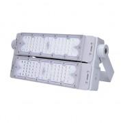 SOLIGHT LED venkovní reflektor Pro+ 100W/230V/13000Lm/5000K/110°/IP65, šedý