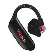 Q8-VRrobot Sports Bluetooth V4.1 Earhook auriculares con manos libres - Negro