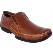 Shoebook MenS Classic Tan Formal Slip On