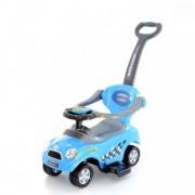 Masinuta de impins pentru copii 1-3 ani Mini Cooper - Albastru
