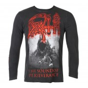 tričko pánské s dlouhým rukávem DEATH - THE SOUND OF PERSEVERANCE - BLACK - PLASTIC HEAD - KU075LS