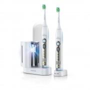 Periute de dinti electrice Philips Sonicare FlexCare HX6932/36, 2 manere, 2 capete, 3 moduri, Sterilizator UV