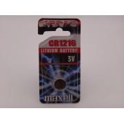 Maxell CR1216 baterie litiu 3V blister 1