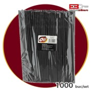 Paie flexibile negre 240x5mm 1000 buc/set