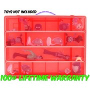 Life Made Better Vampirina Case, Toy Storage Carrying Box. Figures Playset Organizer. Accessories for Kids by Lmb