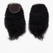 Rapunzel® Extensions Naturali Lace Closure Coily Curl 1.0 Black 25 cm
