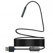 Câmara Endoscópica Impermeável de 8mm USB YPC110 - 7m - Preto