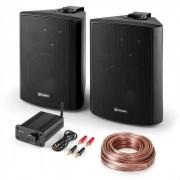 "Skytec Set PA HiFi ""Bluetooth Play BK"" Juego de altavoces Mini amplificador Bluetooth Cable (PL-28032-29105)"