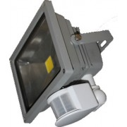LED schijnwerper sensor floodlight 30W warmwit licht ESR