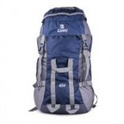 STALIN Blue 45L Lightweight Travel Hiking Bag Backpacking Backpack For Outdoor Hiking Trekking Camping Rucksack Rucksack - 45(Blue)