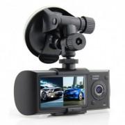 CAMERA VIDEO AUTO SW R300 DUAL CAM CU GPS LOGGER