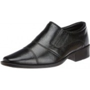 Hush Puppies Premium Leather Slip On For Men(Black)