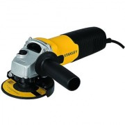 Stanley 600-Watt Small Angle Grinder 100mm Yellow and Black