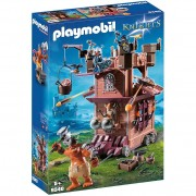 Playmobil knights fortezza mobile dei guerrieri