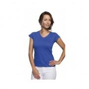 Sols Dames t-shirt V-hals kobalt blauw 40 (L) - T-shirts