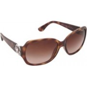 Vogue Oval Sunglasses(Brown)