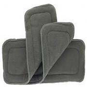 Tinytots Set Of 3 Bamboo Charcoal Inserts (5 layered) for cloth diapers