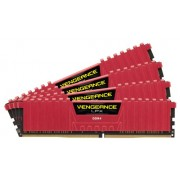 Corsair Vengeance Lpx with Red 32Gb , 8Gb x 4 kit, Ddr4-3866 | CMK32GX4M4B3866C18R