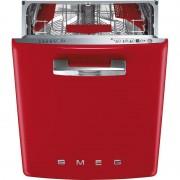 SMEG ST2FABRD 60 cm Integrerad Diskmaskin Röd Retro A+++