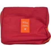kubergift Travel toiletries pouch for both men & women Travel Toiletry Kit(Red)