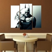 Wall Sticker Batman Design (Cover Area :- 24 X 28 inch)
