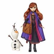 Papusa pentru fetite - Disney Frozen II Anna si Olaf