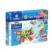 Joc Constructie Magnetic 3D 66 piese