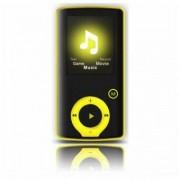 """MP3-spelare BRIGMTON BPA-81-Y 1,8 """"8 GB gul"""