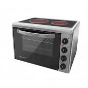Малка готварска печка Eldom 201VF, 3300 W, стъклокерамичен плот, 38 л.