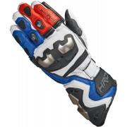 Held Titan RR Motocyklové rukavice M L Bílá červená Modrá