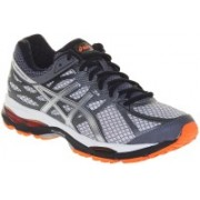 Asics Gel-Cumulus 17 Men Running Shoes For Men(White, Silver, Orange)