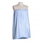 Bambu handduk kjol, ljus blå