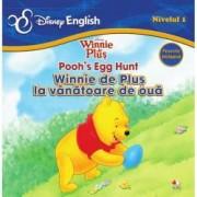 Disney English. Winnie de Plus Nivelul 1 Poohs egg hunt Winnie de Plus la vanatoare de oua poveste bilingva