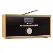 Auna Weimar DAB-rádió, internetes rádió, bluetooth, DAB+, ébresztőóra (KC4-Weimar-IV-DAB-O)