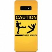 Husa silicon pentru Samsung Galaxy S10 Lite This Is Sparta Funny Illustration